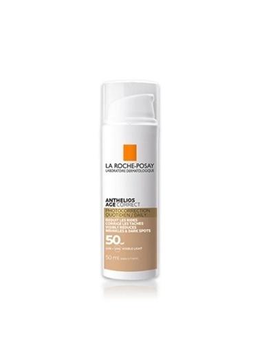 La Roche Posay LA ROCHE POSAY Anthelios Age Correct SPF50+ CC Cream 50 ml Renksiz